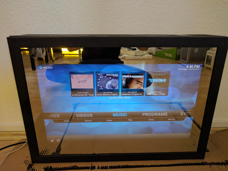 building a magicmirror using vesa mount sqall s blog